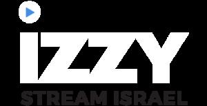 IZZY logo white and black